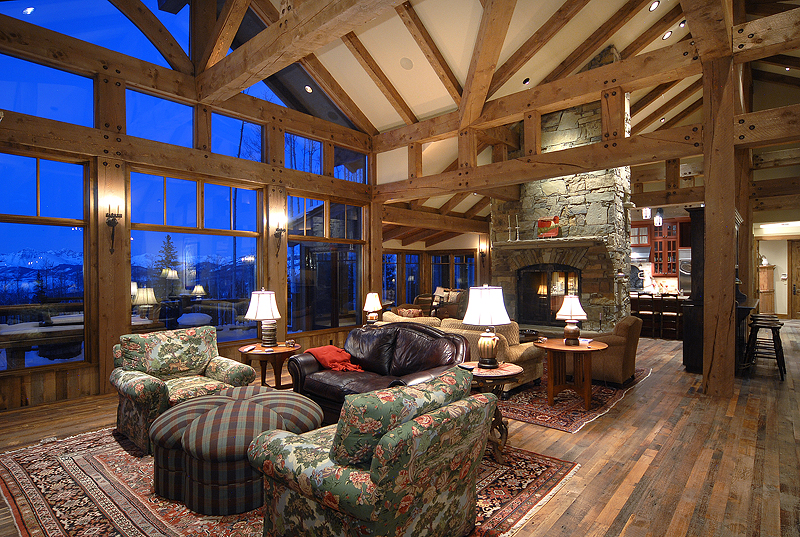 Grand Lodge Style at Red Mountain Ranch in Crested Butte