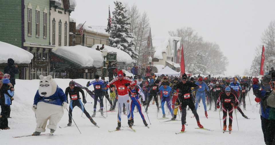 Alley Loop Nordic Ski Race Crested Butte