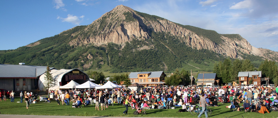 Alpenglow Concert Crested Butte