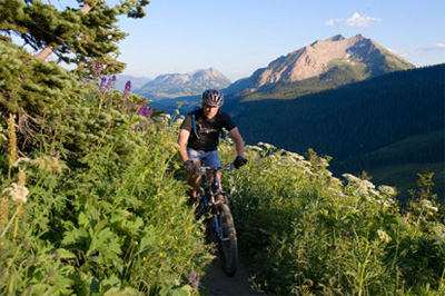 Crested Butte Mountain Biking Images