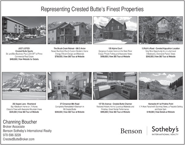 Print Ad Crested Butte News March 2013