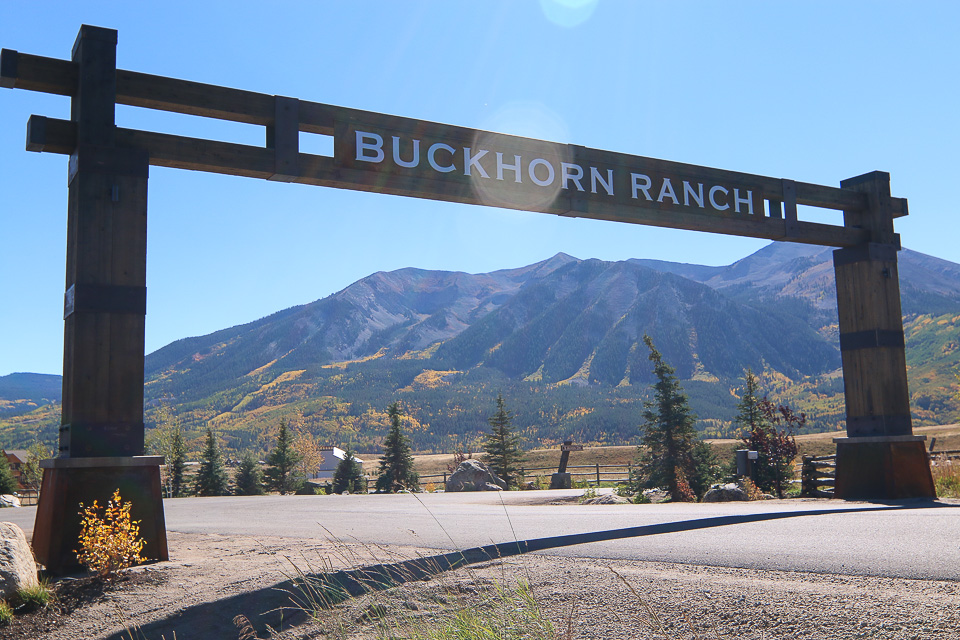 Buckhorn Ranch Entrance