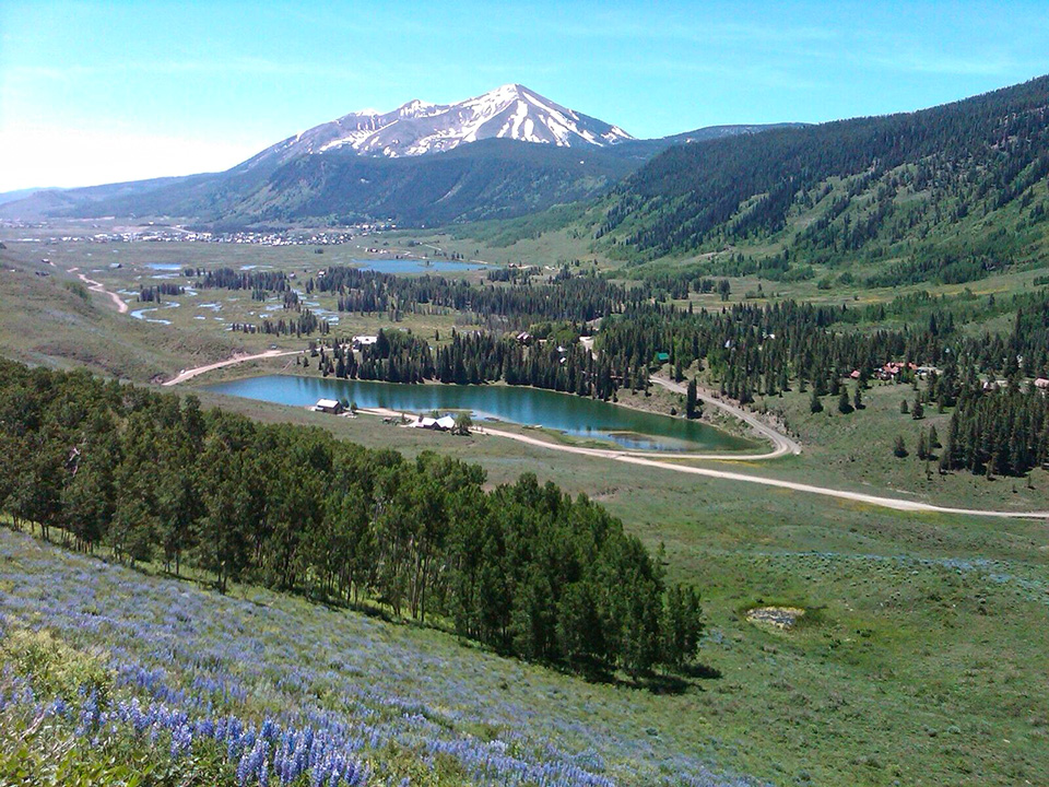 View of Alpine Meadows