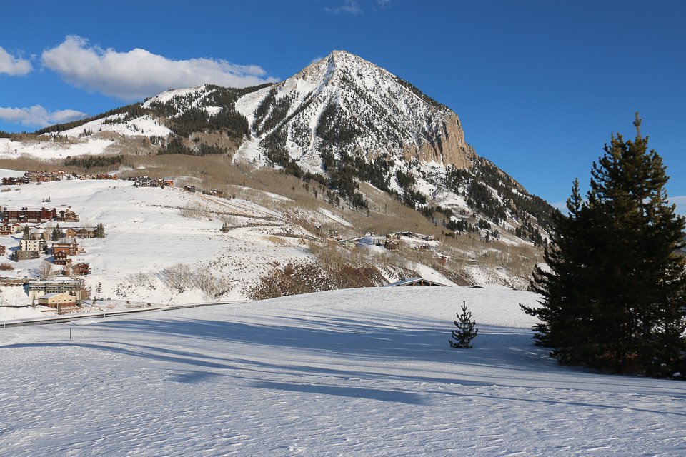 View to Mt. Crested Butte